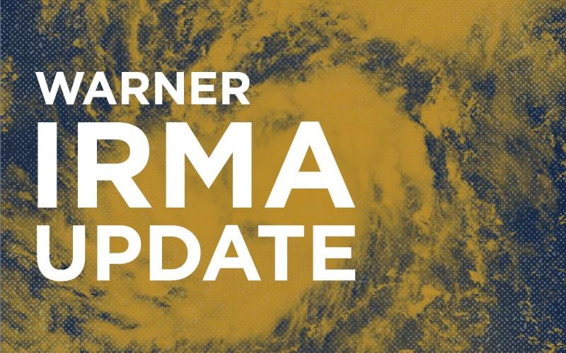 Hurricane Irma Update:  Post Hurricane Class Schedule