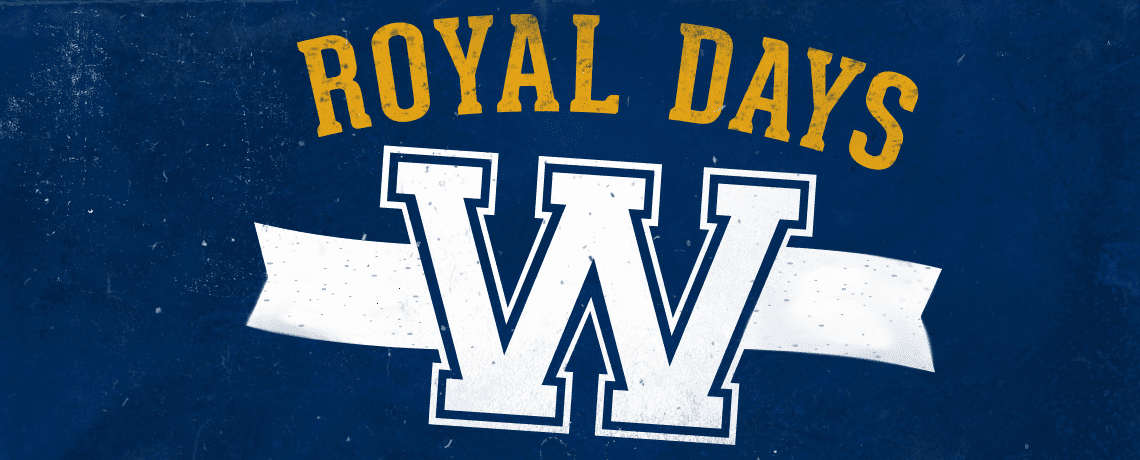 Warner Royals Days Banner