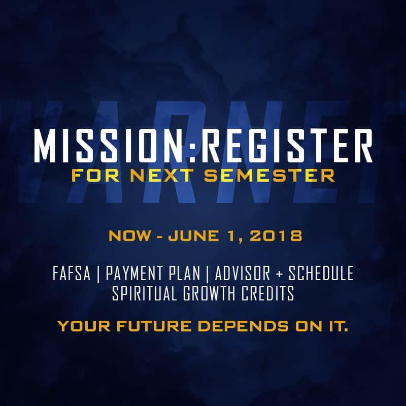 Mission: Register