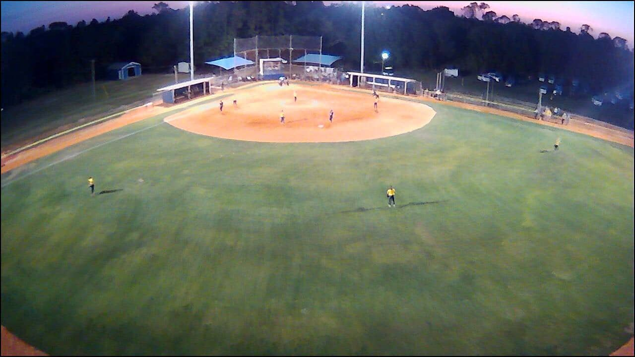 First Softball Game Under the Lights