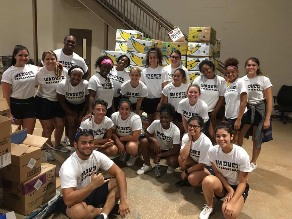 Warner Athletics Cheer Reaches Out to Florida Baptist Children's Homes