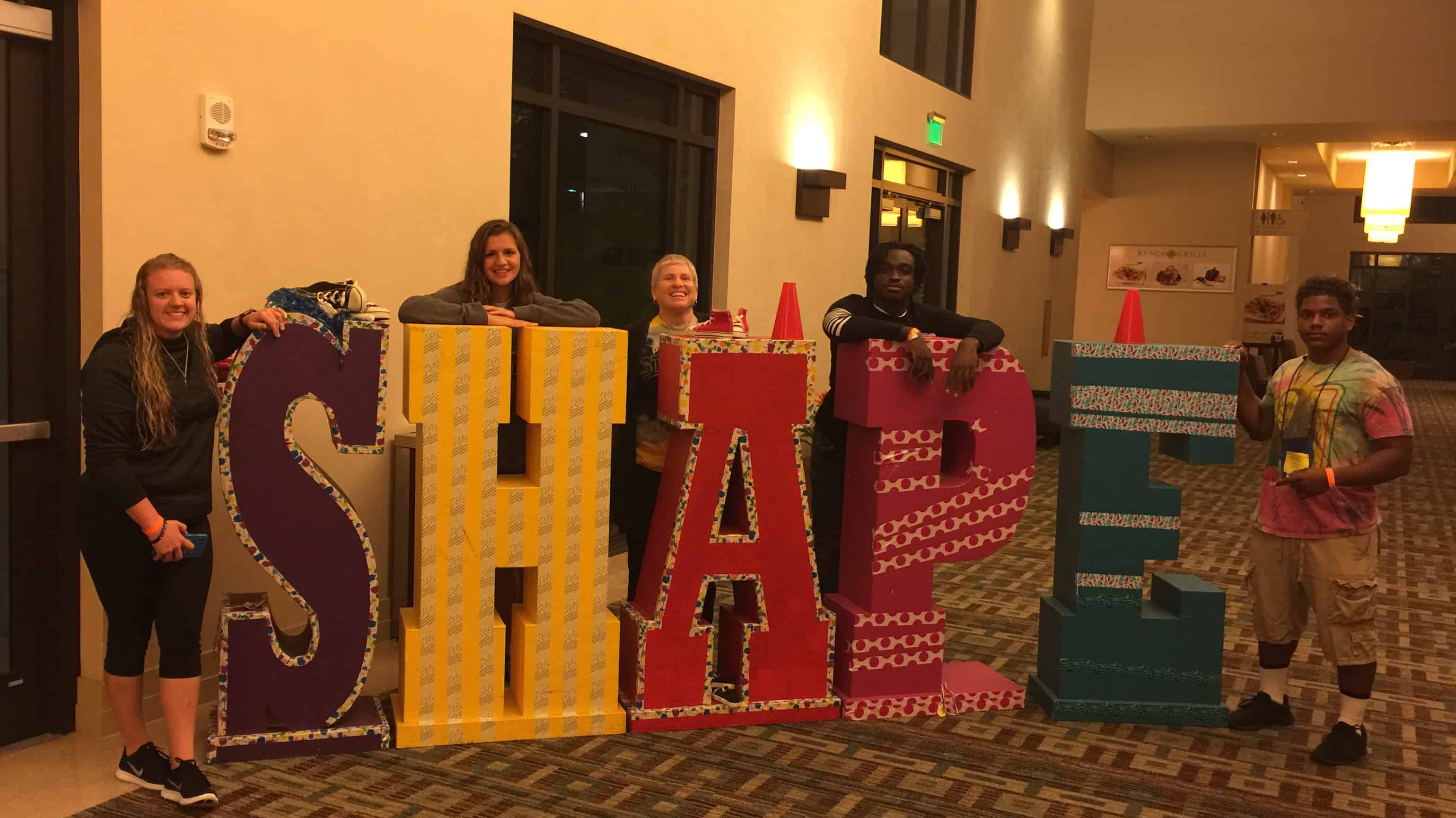 Warner Students Dazzle at the SHAPE Florida Convention