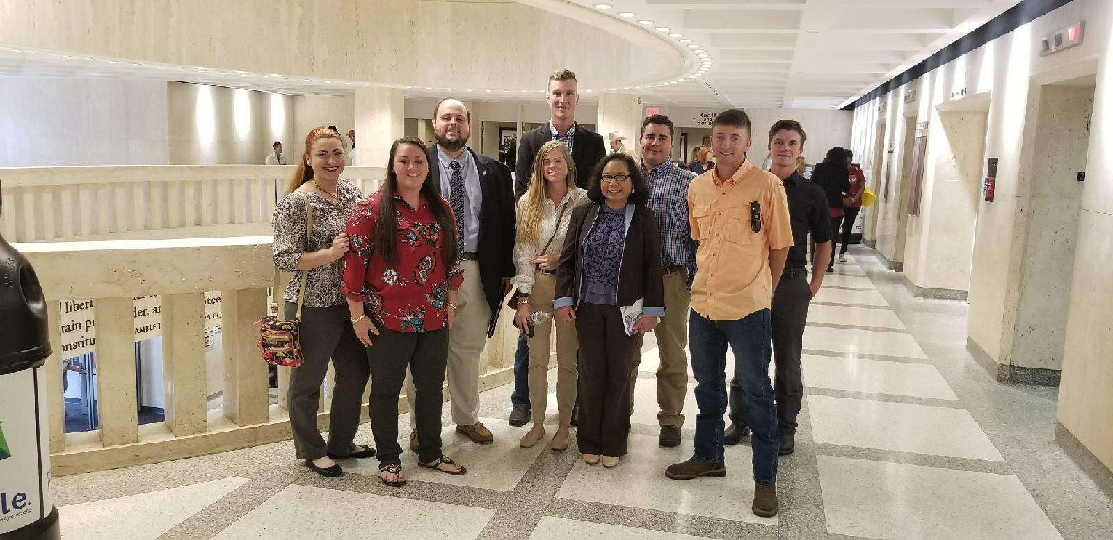 Boots on the Hill – Ag Students take on the Capitol!