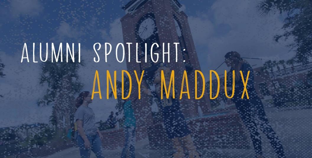 Alum Spotlight – Andy Maddux BA'01