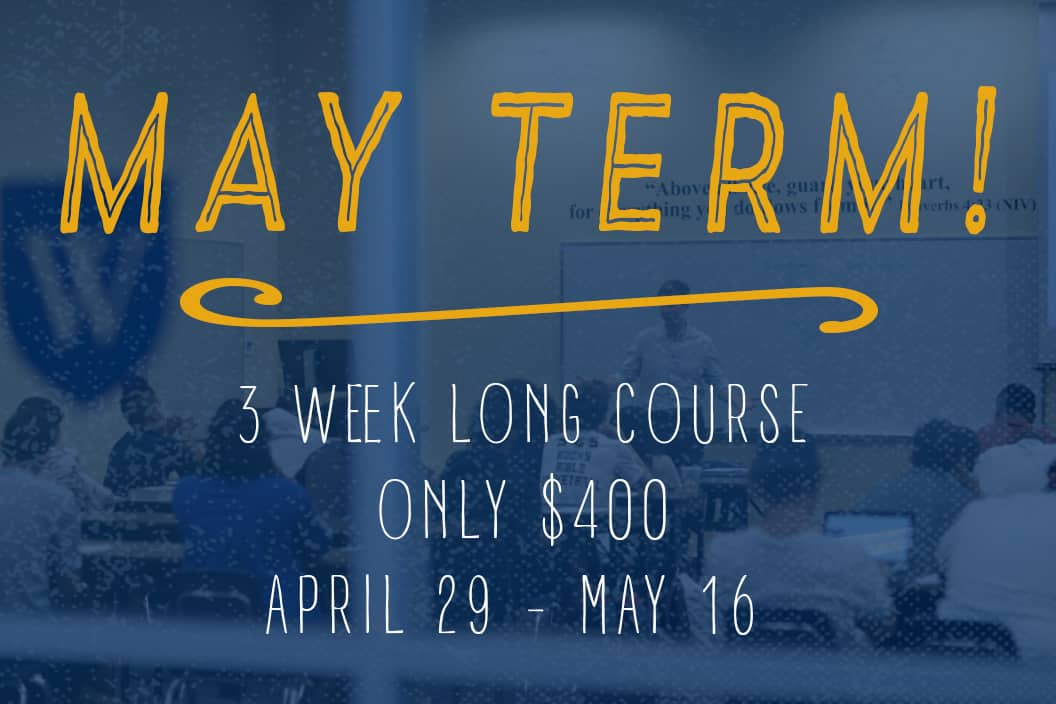 May Term Courses
