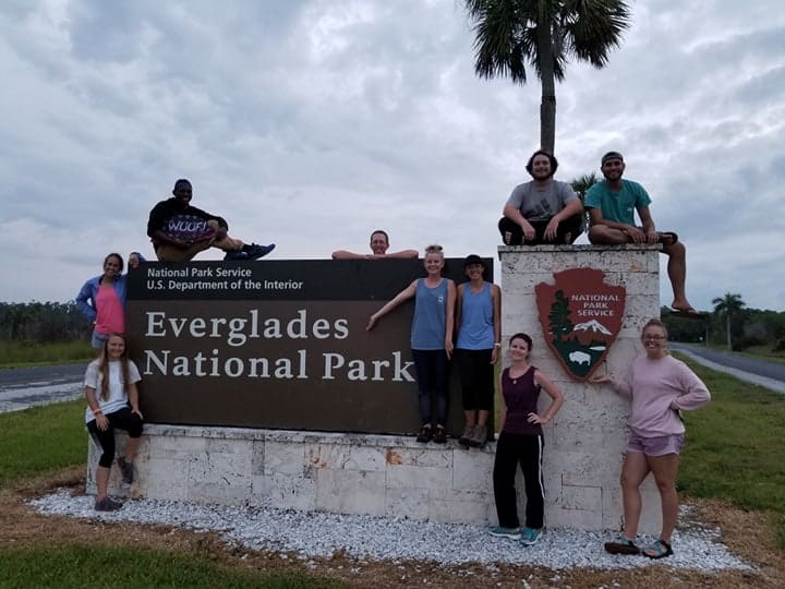 Warner's Herpetology Class Takes on the Florida Keys