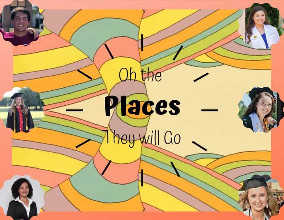 Oh the Places They Will Go!