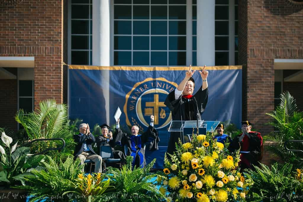 Reverend John Oh, Warner University's 2019 Commencement Speaker