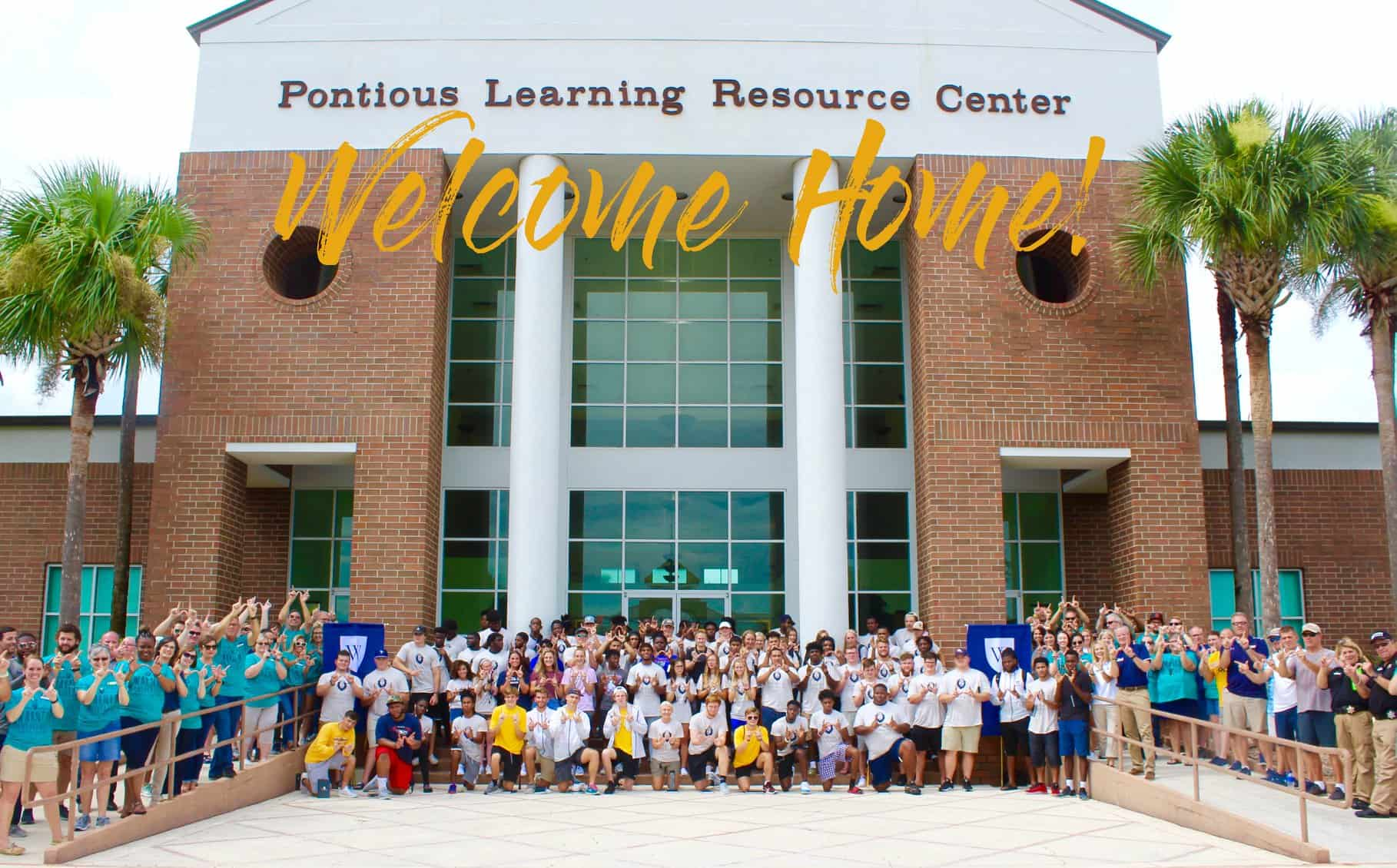 Welcome Home! Pre-Season Fall Athlete Move-In Day