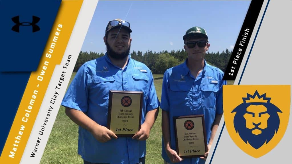 Clay Shooting Duo Shoots Perfect Scores