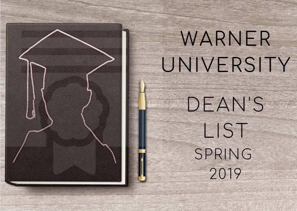 Dean's List Spring 2019