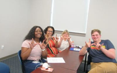 New Club Alert: American Sign Language!