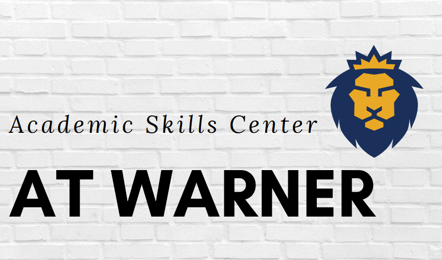 Students: Warner's ASC is Here for You During This Time