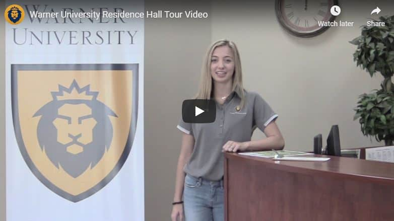 Warner University Residence Hall Tour Video