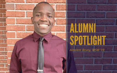 Alumni Spotlight: Ainalem Bruny