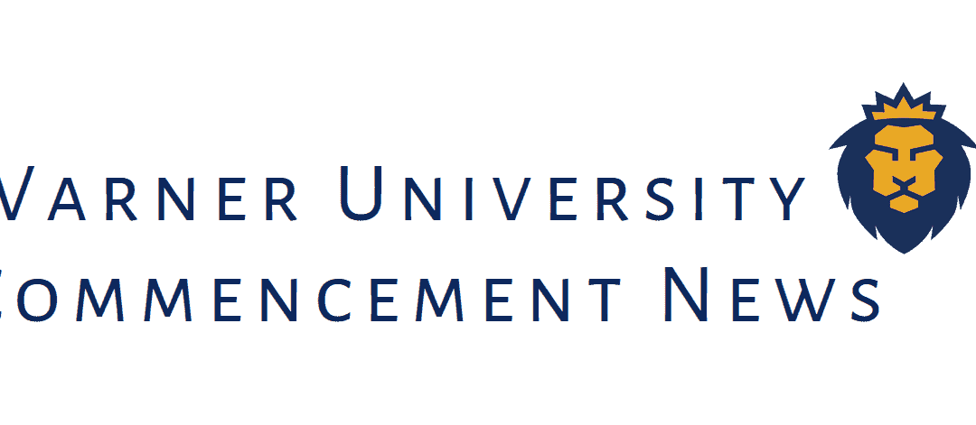 Warner University 2020 Commencement News