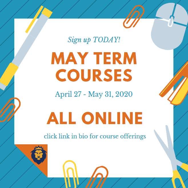 2020 May Term Courses