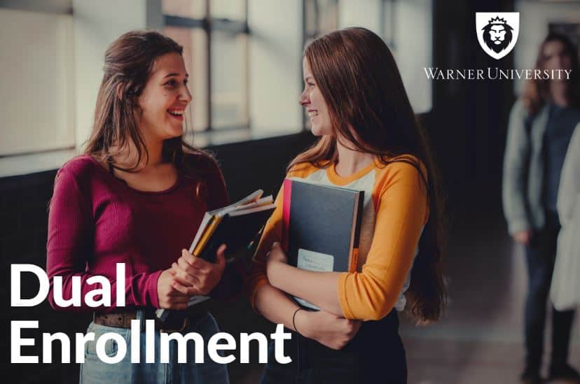 Steps to Enroll as a Dual-Enrolled Student at Warner University