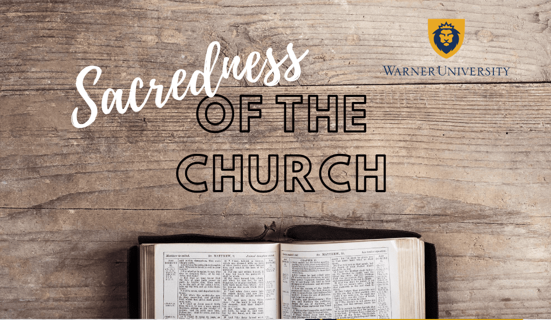 We Need to Reclaim the Sacredness of the Church